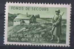 FP 67 - FELDPOST Troupes De Frontières BAR.FR.CAR.224 - Labels