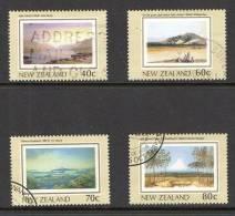 New Zealand 1988 Heritage 4 Values Used - New Zealand