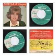 45 Tours Sheila -3eme Disque-premiere Surprise Partie -philips 432 931 - Vinyl-Schallplatten