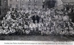 SAINT GEORGES DE LISLE FANFARE DES PETITS ORPHELINS A SAINT FRAIMBAULT DE PRIERES - Other Municipalities