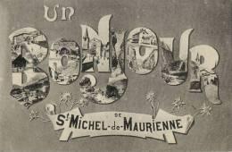 73 ST MICHEL DE MAURIENNE BONJOUR - Saint Michel De Maurienne