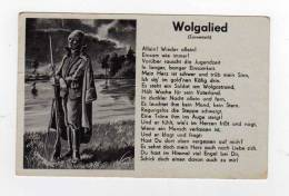 Armee Allemande,infanterie Fantassin ,paroles De Chanson (wolgalied)carte Ecrite En 1940 - Manoeuvres