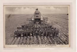 AGRICULTURE / TRACTEURS / Travail De La Terre Jonchée De Wieringermeer - Tracteurs