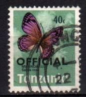 TANZANIA - 1973 YT 20 USED SERVICE - Tansania (1964-...)
