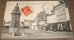 Saint Andre De L'eure - Place Du Marché - Charcuterie Griset - Magasin De Mode - - Autres Communes