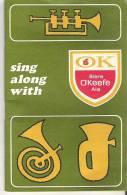 Sing Along With Bierre O'Keefe Ale  Chantons En Choeur Avec OK Biere O'Keefe Ale - Publicités