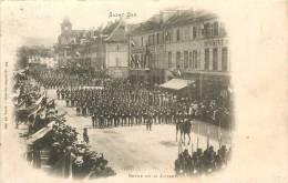 88 SAINT DIE REVUE DU 14 JUILLET VOYAGEE EN 1902 - Saint Die