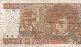 1O FRANC  --  1975   -  O  -  K222  -----  1976 C   B285 - 1962-1997 ''Francs''