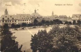 HANAU MARKTPLATZ MIT RATHAUS - Hanau