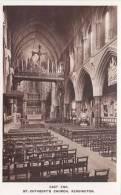 KENSINGTON - ST CUTHBERTS CHURCH INTERIOR - London Suburbs