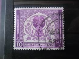PAKISTAN N°61 Oblitéré - Pakistan