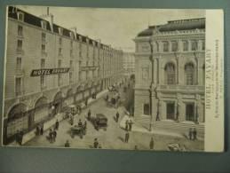 PARIS HOTEL FAVART MERLE OPERA COMIQUE Timbrée - France