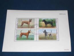 Thailand Block Sheet Mi. 52 1993 Gestempelt 0 Used BANGKOK 2013 Dog Dogs Hund Hunde Ridgeback-Hunde - Thailand
