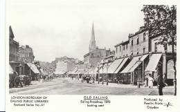 Old Ealing - Ealing Broadway 1893 Looking West  R632 - London Suburbs