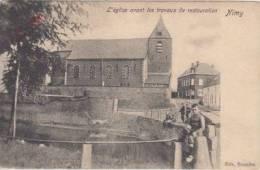 Mons Bergen Nimy      L'Eglise Avant Les Travaux De Restauration        Scan 3554 - Mons