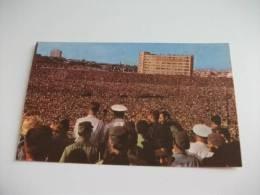 Havana Cuba  Festa Popolare 26 Luglio 1961 Yuri Gagarin - Manovre