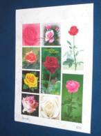 Thailand Block Sheet 2010 Gestempelt Used 0 Bangkok 2013 Rose Duft Rosen Roses Pflanze Plant - Thailand
