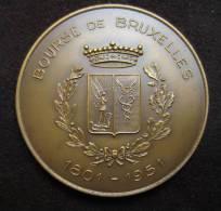 M01020 Bourse De Bruxelles 1801-1951, Vue Bourse Et Blason Par Fischweiler (96 G.) - Belgique