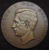 M01027 Congo Belge, Albert I Par Kreitz  (1929-1954), Inst. Royal Colonial Belge Et Carte Du Congo (258 G.) - Royal / Of Nobility