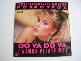 """MAXI - SAMANTHA FOX  - JIVE 8703  """" DO YA DO YA """" + 2 - 45 T - Maxi-Single"""