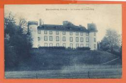 U168, Hauterives , Château De Chastellard, Circulée 1925 - Hauterives