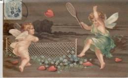 ENFANTS   AU  TENNIS - Tennis