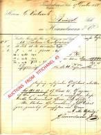 Rechnung 1884 - FRÖNDENBERG - HIMMELMANN & C° - Papier Fabrik - Imprimerie & Papeterie
