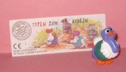 1996 Kinder Allemand Typen Zum Kugeln 702595 + BPZ - Inzetting