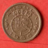 ANGOLA  50  CENTAVOS  1955  RARE KM# 75  -    (1439) - Angola
