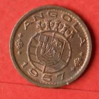 ANGOLA  50  CENTAVOS  1957   KM# 75  -    (1440) - Angola