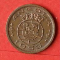ANGOLA  50  CENTAVOS  1953   KM# 75  -    (1441) - Angola