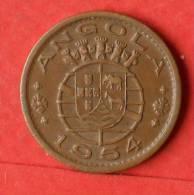 ANGOLA  50  CENTAVOS  1954   KM# 75  -    (1442) - Angola