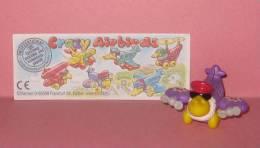1996 Kinder Allemand Crazy Airbirds 661457 + BPZ - Inzetting