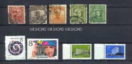 9 X Briefmarken-China - China