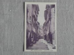 CPA  N° 9676 Entraygues Vieille Rue Droite Ed. Belard Et  Laplagne. Voir Photos. - France