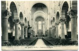CPA 35 JANZE   -- Intérieur De L´ Eglise  --  N° 652 Lamiré  --  Rare - Otros Municipios