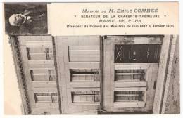 PONS Maison D´Emile Combes Sénateur Maire (Basnary) Charente Maritime (17) - Pons