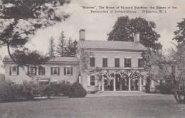 New Jersey Princeton Morven The Home Of Richard Stockton The Sig