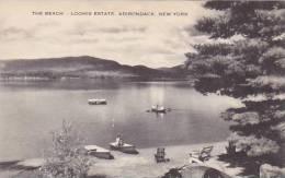 New York Adirondack The Beach-Loomis Estate Albertype