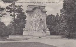 New Jersey Princeton Monument Commemorating Battle Of Princeton