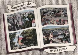 CPSM 59 / HAZEBROUK / EGLISE / VUE PANORAMIQUE / MOULIN / VUE GENERALE / 1963 - Hazebrouck