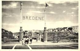 BELGIQUE - FLANDRE OCCIDENTALE - BREDENE S/MER-s/ZEE - Entrée Vers La Plage - Toegang Tot Het Strand. - Bredene
