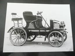 PEUGEOT - TYPE 36 DE 1902 - PHOTO 18 X 24 - Reproducciones
