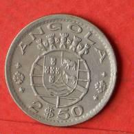 ANGOLA  2,5  ESCUDOS  1968   KM# 77  -    (1455) - Angola