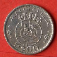ANGOLA  5  ESCUDOS  1972   KM# 81  -    (1459) - Angola