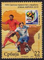 2010 - Serbia - FIFA World Cup - Soccer Football - South Africa - Used - Coppa Del Mondo