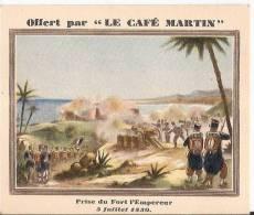 Chromo Cafe Martin Prise Du Fort De L'Empereur - Tea & Coffee Manufacturers