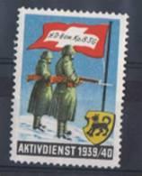 FP 134 - FELDPOST HD Bewachunsgsdienst/Surveillance BEW.KP. 8 SG - Soldaten Briefmarken