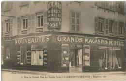 63 CLERMONT FERRAND Rue Du Terrail Grand Magasin De Deuil Top Cpa - Clermont Ferrand