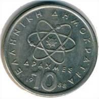 Griechenland - 10 Drachmen 1988 - KM 132 - Vz+ - Griechenland